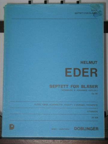 Eder H - Septet for Wind Op 55